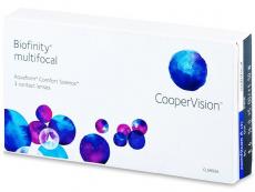 Biofinity Multifocal (3 φακοί)