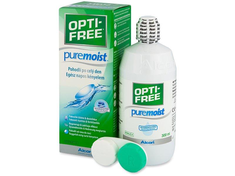 Υγρό OPTI-FREE PureMoist 300ml
