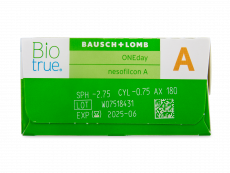 Biotrue ONEday for Astigmatism (90 φακοί)