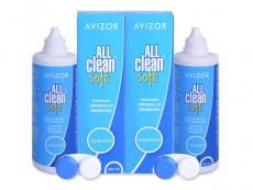 Υγρό Avizor All Clean Soft 2 x 350 ml