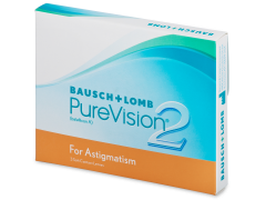 PureVision 2 for Astigmatism (3φακοί)