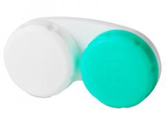 Θήκη φακών επαφής Green & White