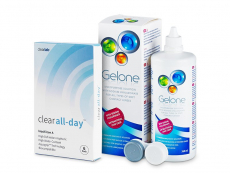 Clear All-Day + Υγρό Gelone 360 ml