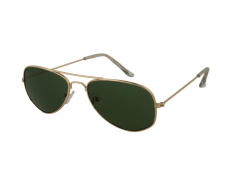 Kids sunglasses Alensa Pilot Gold