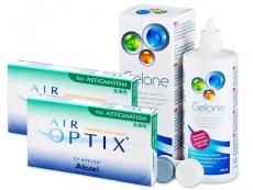 Air Optix for Astigmatism (2x3 φακοί) + ΥγρόGelone360ml