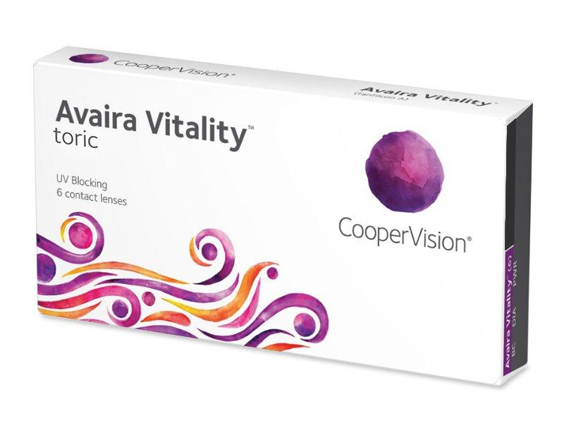 Avaira Vitality Toric (6 φακοί)
