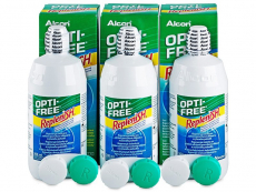 Υγρό OPTI-FREE RepleniSH 3 x 300 ml