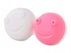 Θήκη αντικατάστασης για το κουτί καθαρισμού φακών επαφής με δόνηση- ροζ