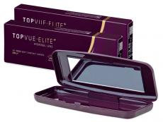 TopVue Elite+ (10 ζευγάρια) + Θήκη φακών TopVue Elite
