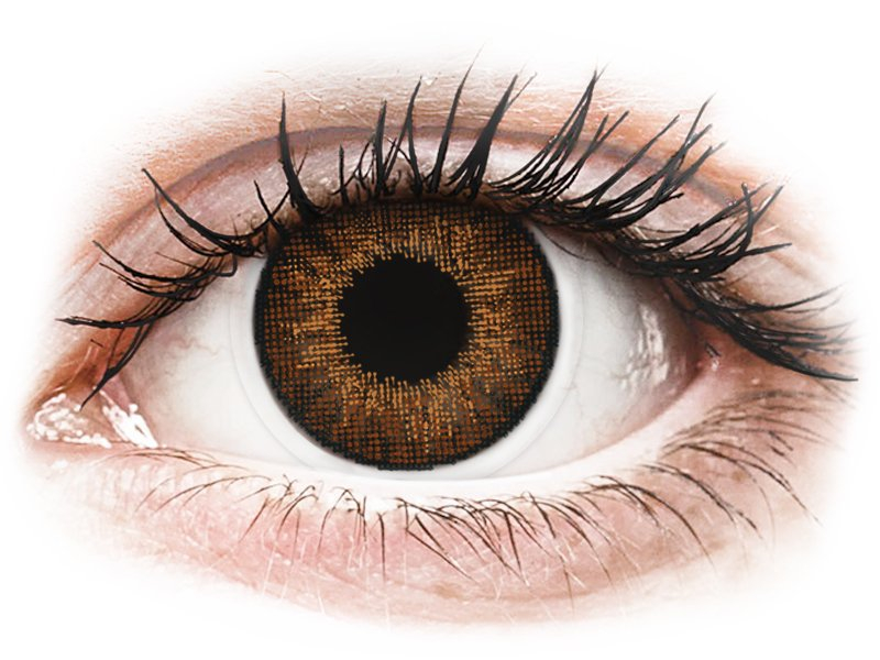 Air Optix Colors - Brown - Διοπτρικοί (2φακοί)