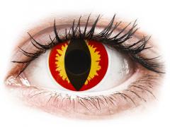 ColourVUE Crazy Lens - Dragon Eyes - Μη διοπτρικοί (2 φακοί)