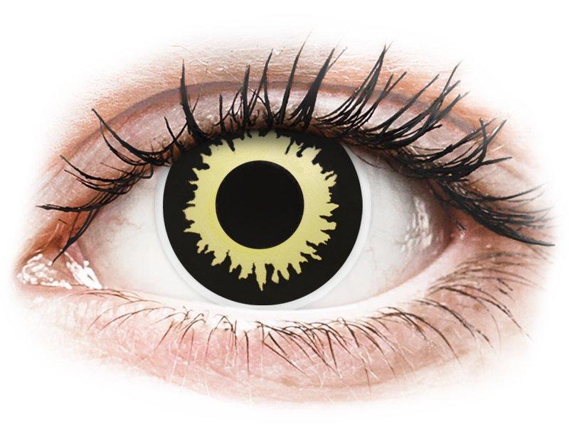 ColourVUE Crazy Lens - Eclipse - Μη διοπτρικοί (2 φακοί)
