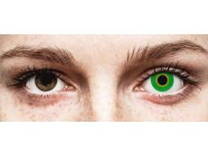 ColourVUE Crazy Lens - Hulk Green - Μη διοπτρικοί (2 φακοί)