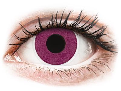 ColourVUE Crazy Lens - Purple - Μη διοπτρικοί Ετήσιοι φακοί ...