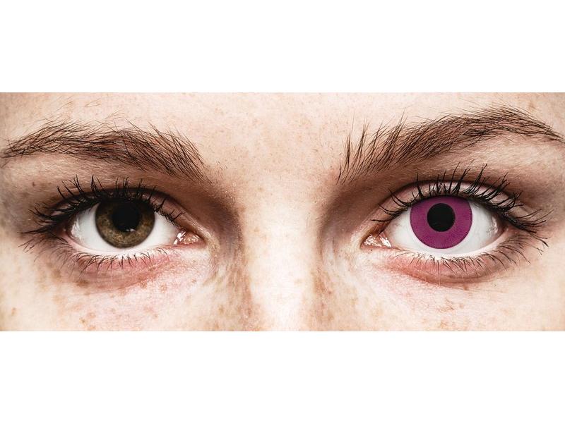 ColourVUE Crazy Lens - Purple - Μη διοπτρικοί (2 φακοί)
