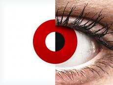 ColourVUE Crazy Lens - Red Devil - Μη διοπτρικοί (2 φακοί)