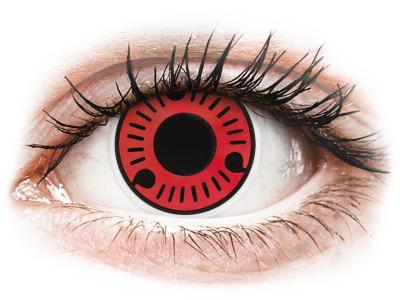 ColourVUE Crazy Lens - Sasuke - Μη διοπτρικοί Ετήσιοι φακοί ...