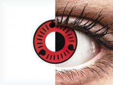 ColourVUE Crazy Lens - Sasuke - Μη διοπτρικοί (2 φακοί)
