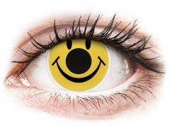 ColourVUE Crazy Lens - Smiley - Μη διοπτρικοί (2 φακοί)