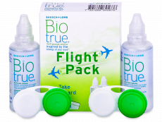 Υγρό Biotrue Flight Pack 2 x 60 ml