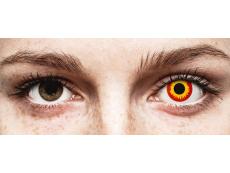 ColourVUE Crazy Lens - Wildfire - Μη διοπτρικοί (2 φακοί)