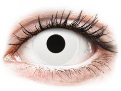 ColourVUE Crazy Lens - WhiteOut - Μη διοπτρικοί (2 φακοί)