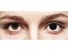 ColourVUE Crazy Lens - BlackOut - Διοπτρικοί (2 φακοί)