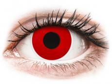 ColourVUE Crazy Lens - Red Devil - Διοπτρικοί (2 φακοί)