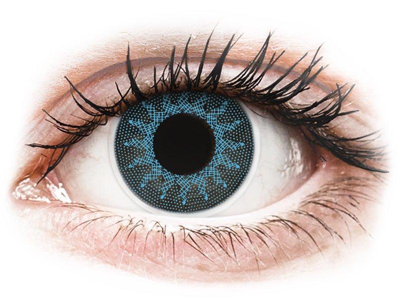 ColourVUE Crazy Lens - Solar Blue - Διοπτρικοί (2 φακοί)