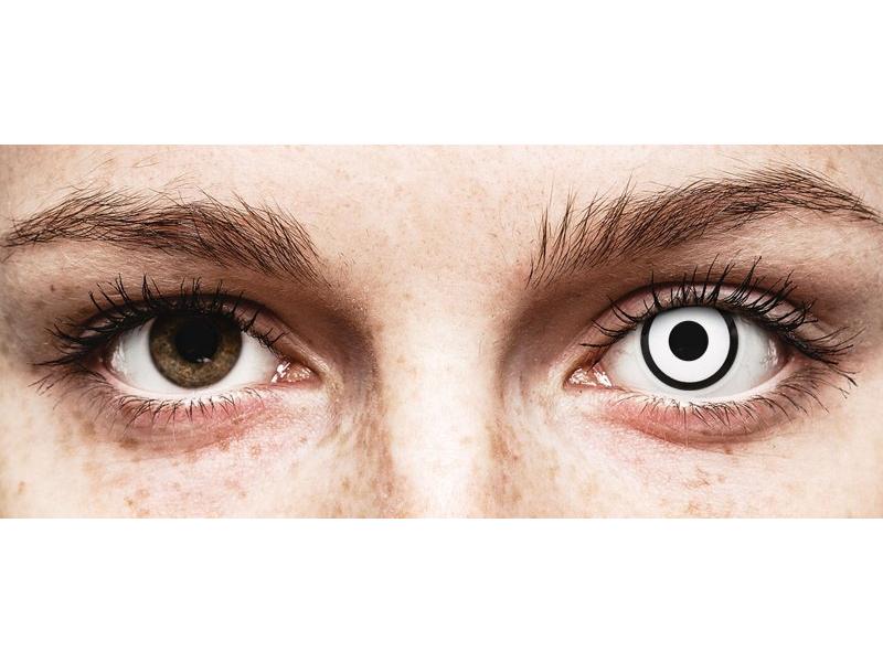 ColourVUE Crazy Lens - White Zombie - Διοπτρικοί (2 φακοί)