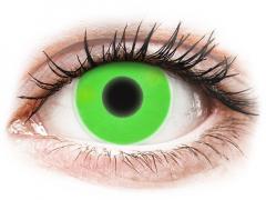 ColourVUE Crazy Glow Green - Μη διοπτρικοί (2φακοί)