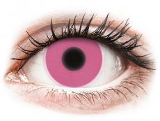 ColourVUE Crazy Glow Pink - Μη διοπτρικοί (2φακοί)
