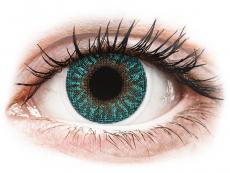 TopVue Color - Turquoise - Μη διοπτρικοί (2 φακοί)