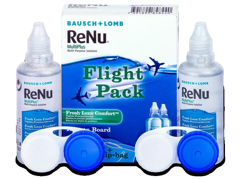 Υγρό ReNu Multiplus flight pack 2 x 60 ml