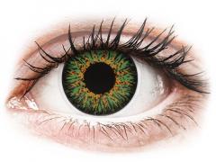 ColourVUE Glamour Green - Διοπτρικοί (2φακοί)