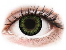 ColourVUE BigEyes Party Green - Μη διοπτρικοί (2φακοί)