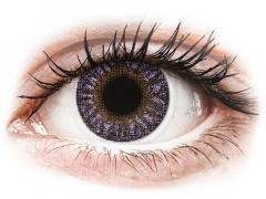 TopVue Color - Violet - Μη διοπτρικοί (2 φακοί)