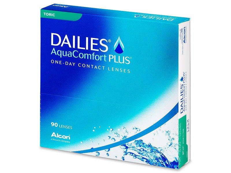 Dailies AquaComfort Plus Toric (90φακοί)