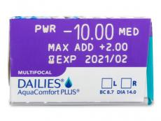 Dailies AquaComfort Plus Multifocal (30φακοί)