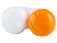 Θήκη φακών επαφής (3D - πορτοκαλί)