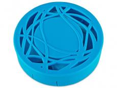 Θήκη φακών με καθρέπτη (μπλε)