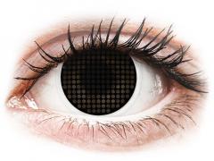 ColourVUE Crazy Lens - Black Screen - Μη διοπτρικοί (2 φακοί)
