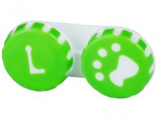 Θήκη φακών επαφής (Πράσινη Dog)