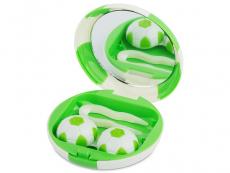 Θήκη φακών με καθρέπτη (πράσινη μπάλα)