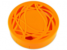 Θήκη φακών με καθρέπτη (πορτοκαλί)