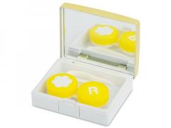 Θήκη φακών με καθρέπτη (elegant χρυσή)