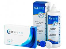 TopVue Air (6 φακοί) + Υγρό AQ Pure 360 ml
