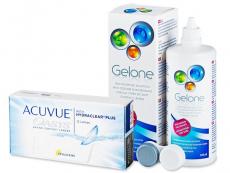 Acuvue Oasys (12 φακοί) + Υγρό Gelone 360 ml