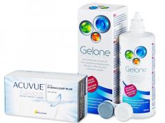 Acuvue Oasys (24 φακοί) + Υγρό Gelone 360 ml
