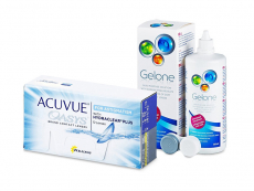 Acuvue Oasys for Astigmatism (12 φακοί) + Υγρό Gelone 360 ml